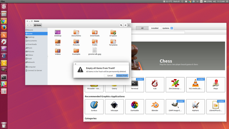 Chrome OS Theme For Linux Desktop - Ktechpit